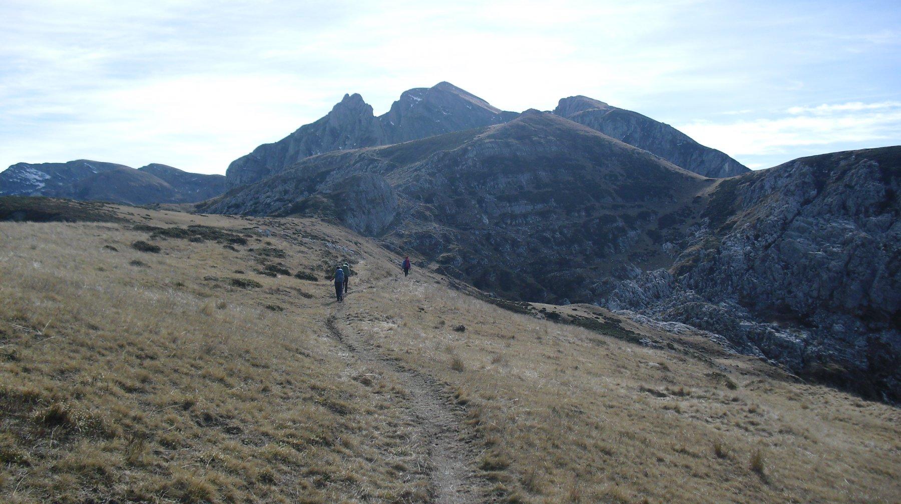 verso il Monte Jurin.