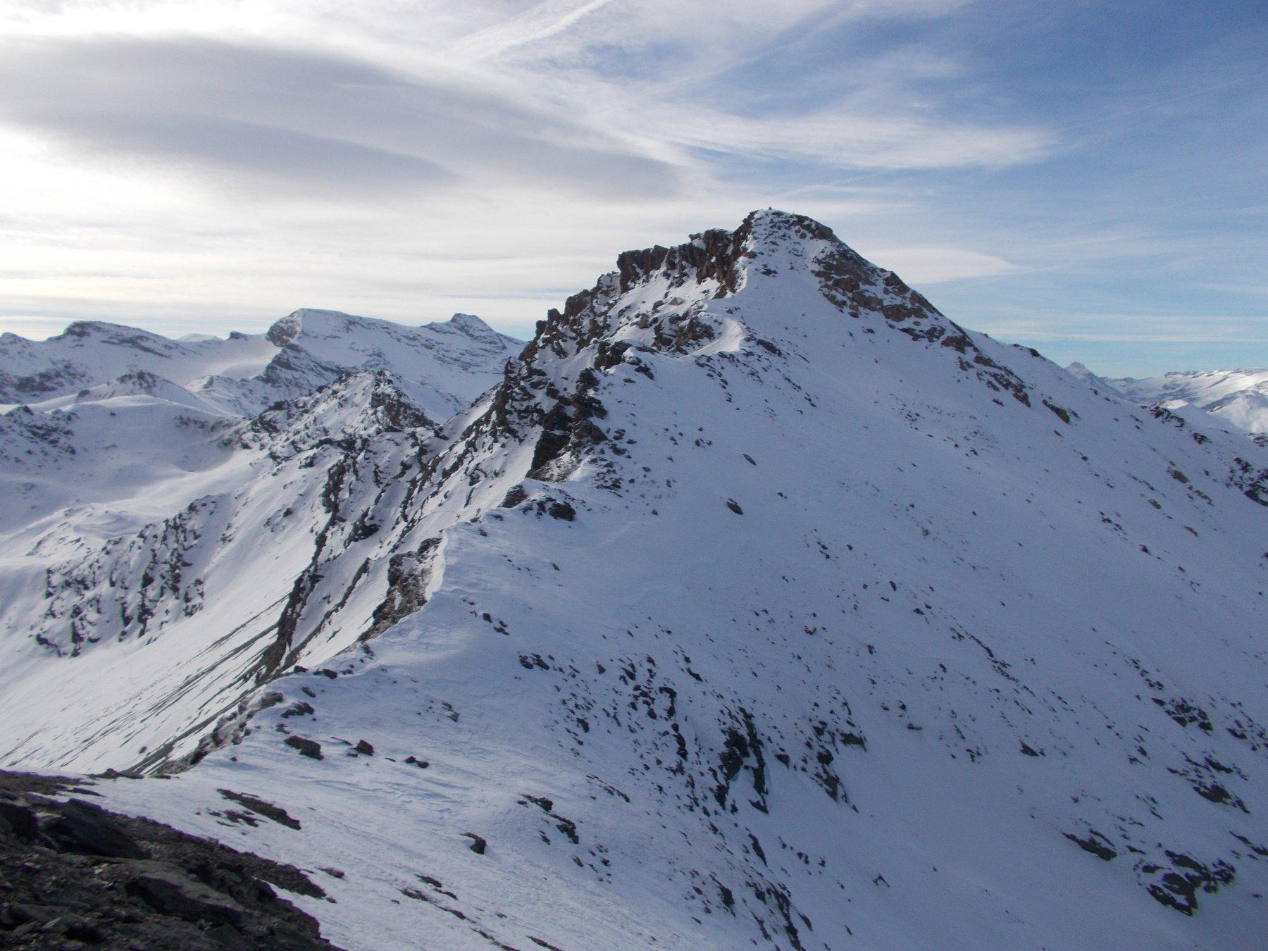 il Pelaou Blanc..dalla Pointe de l'Arcette..