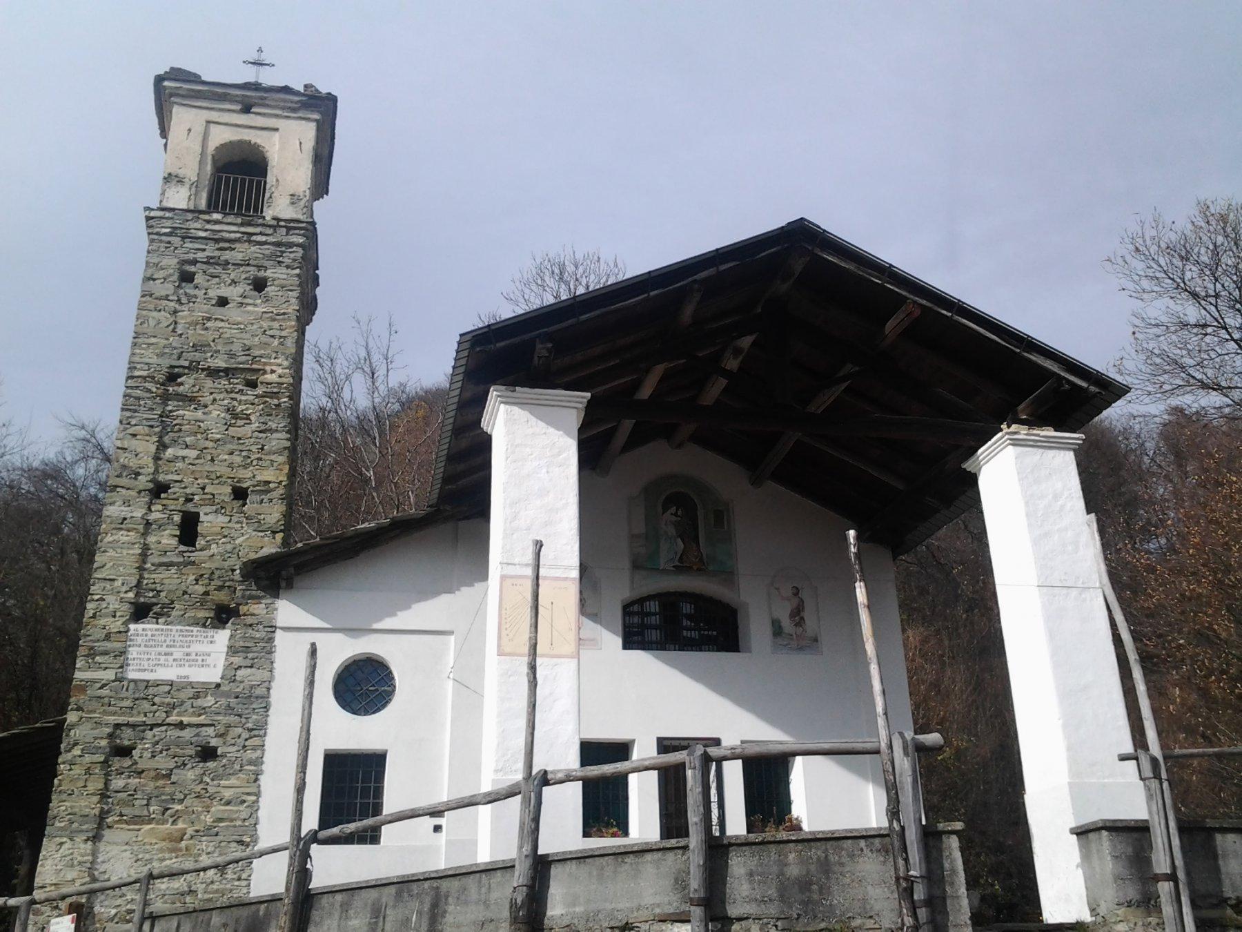 Cappella del Giardino, dove si ritorna alla civilta'