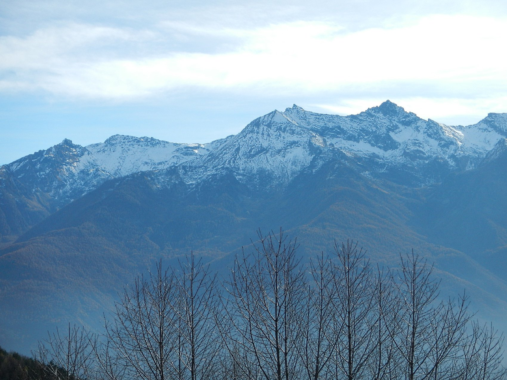 panorama: dal Monte Villano al Monte Orsiera