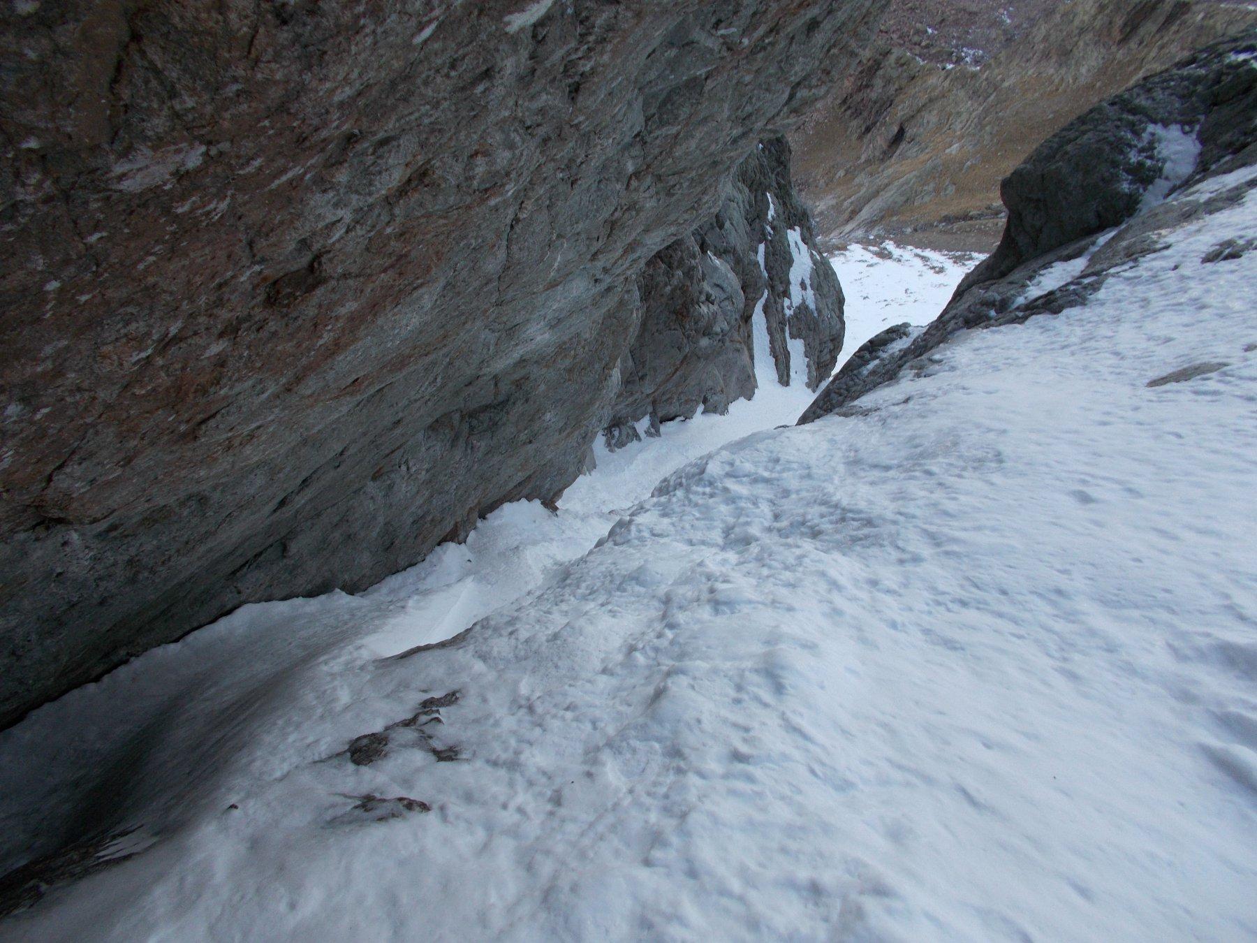 dove roccia e ghiaccio paiono darsi la mano..