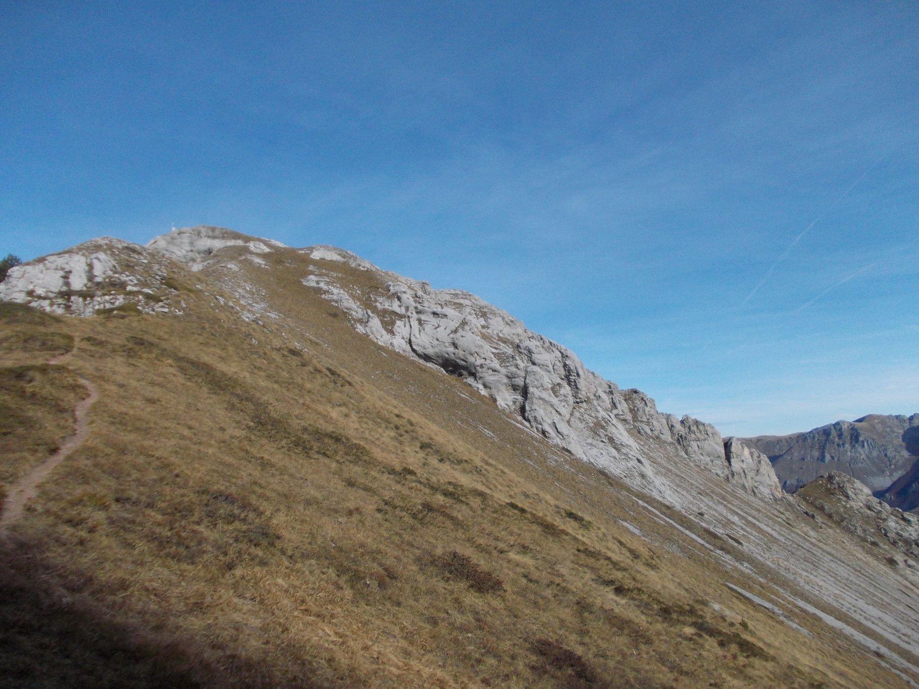 la cresta vista dal col baral