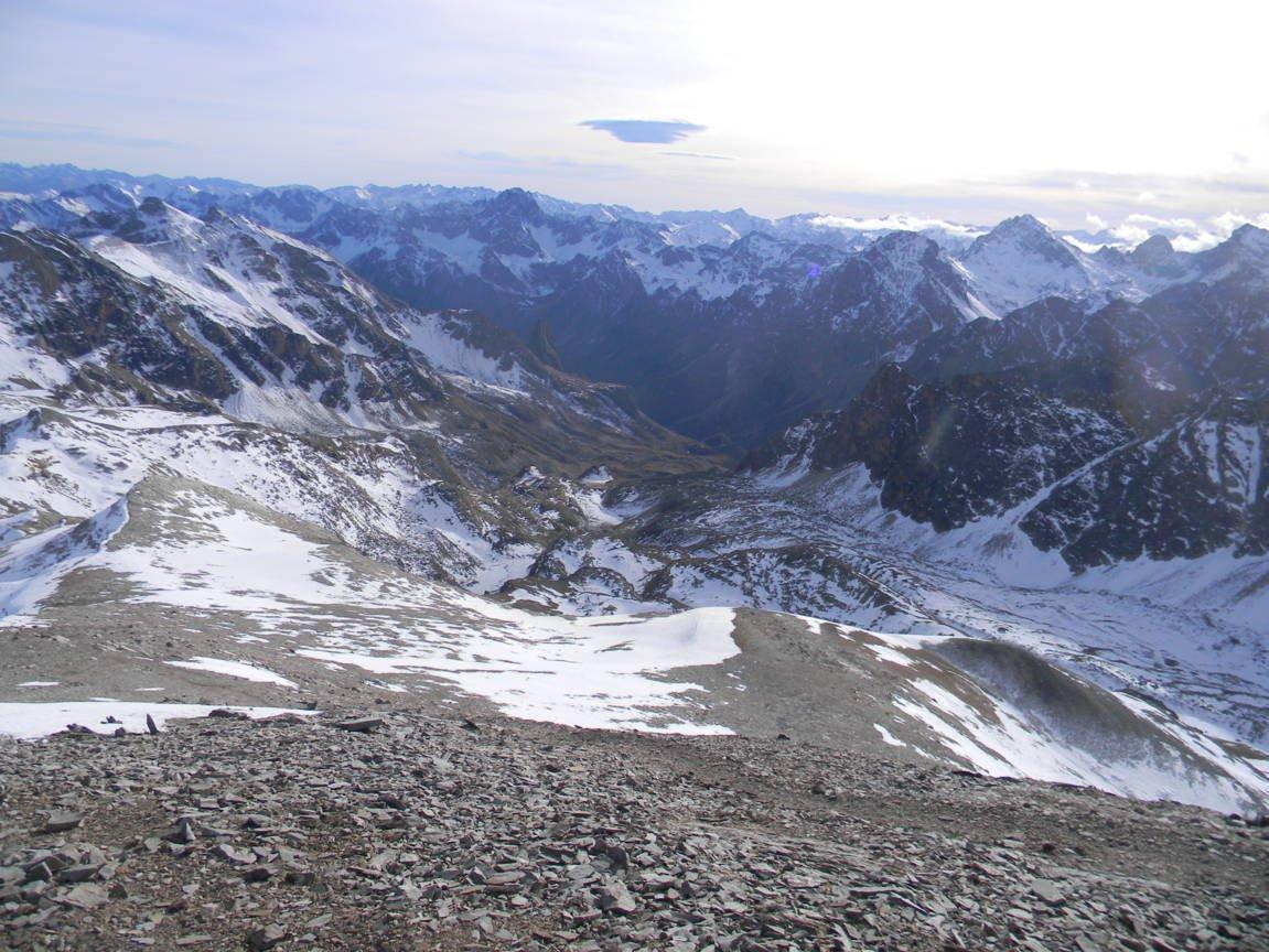 dalla vetta..verso Chiappera Val Maira