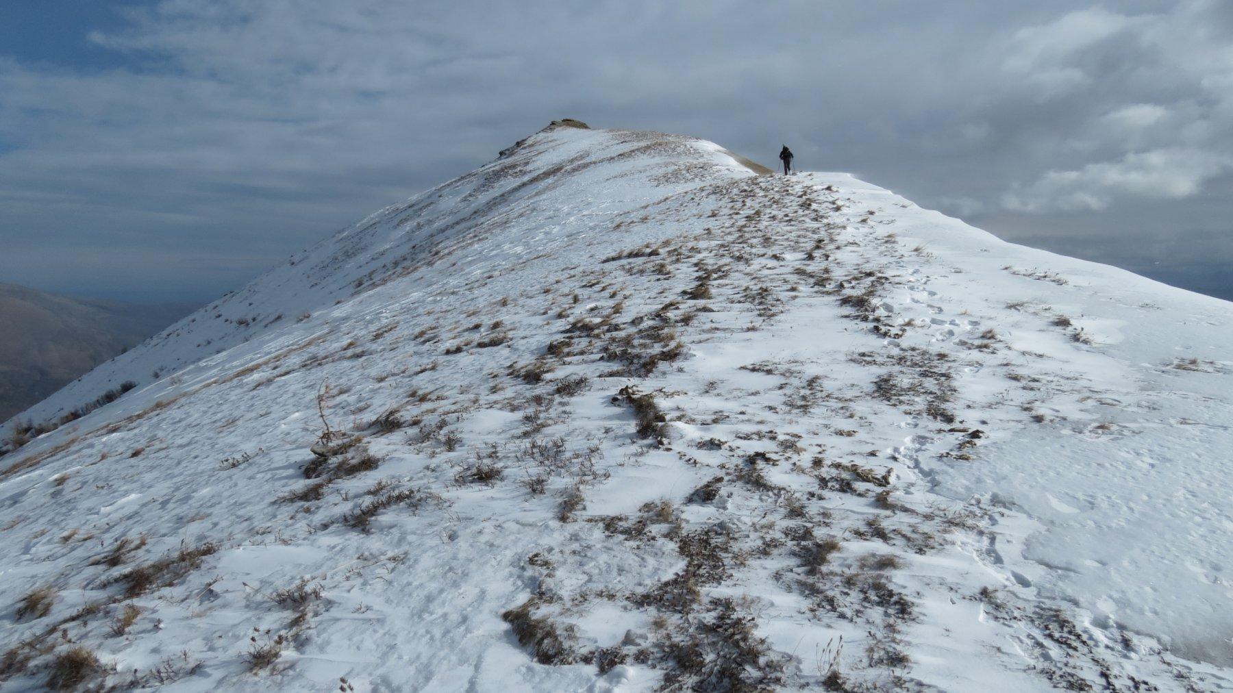 la cima del Morfreid si avvicina...(21-11-2015)