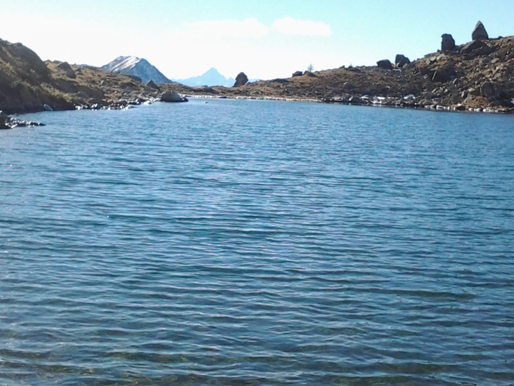 Lago Grande (Monviso sullo sfondo)