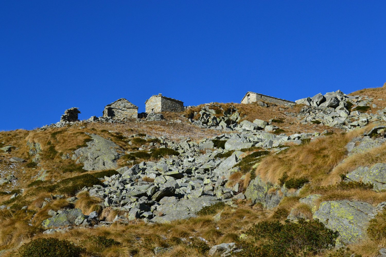 in vista dell'Alpe Vailet (2229 m)