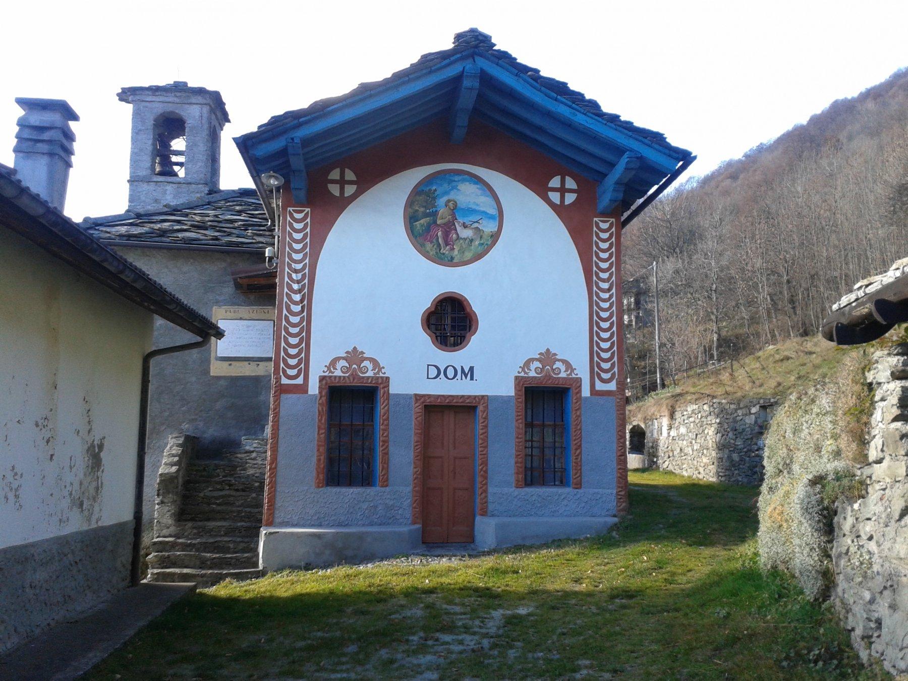 la chiesetta in borgata Balma