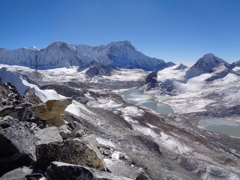 panorama dal Amphulapcha La