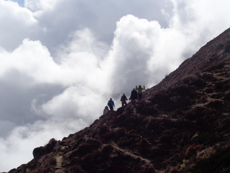 nelle nuvole