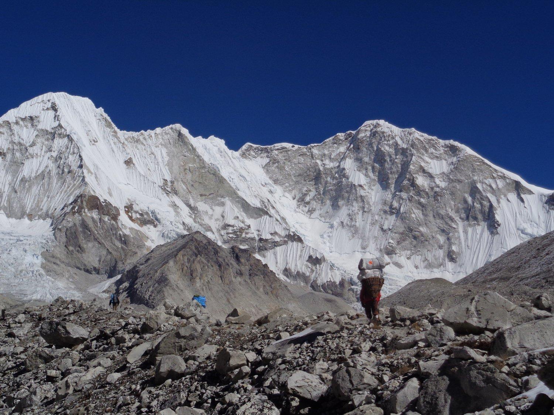 portatori e montagne