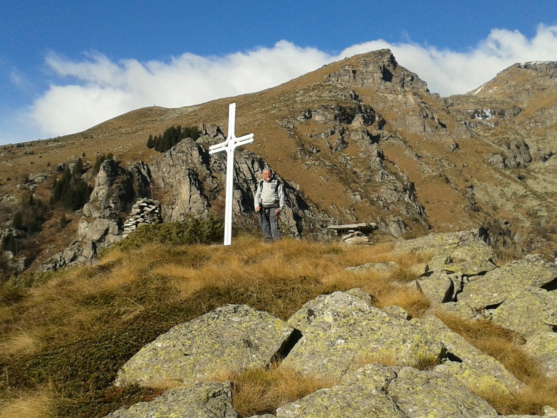 la croce di Chialamberto