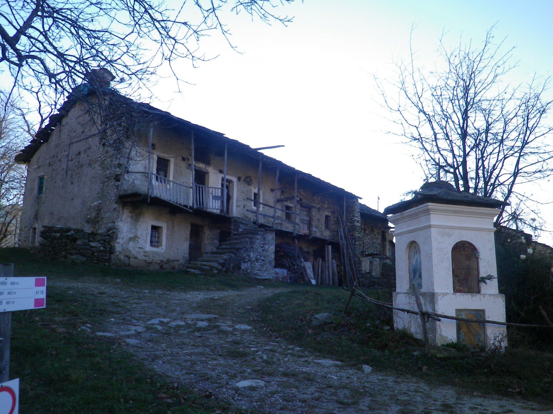 Case Brancot, sul versante dell'Angiolino