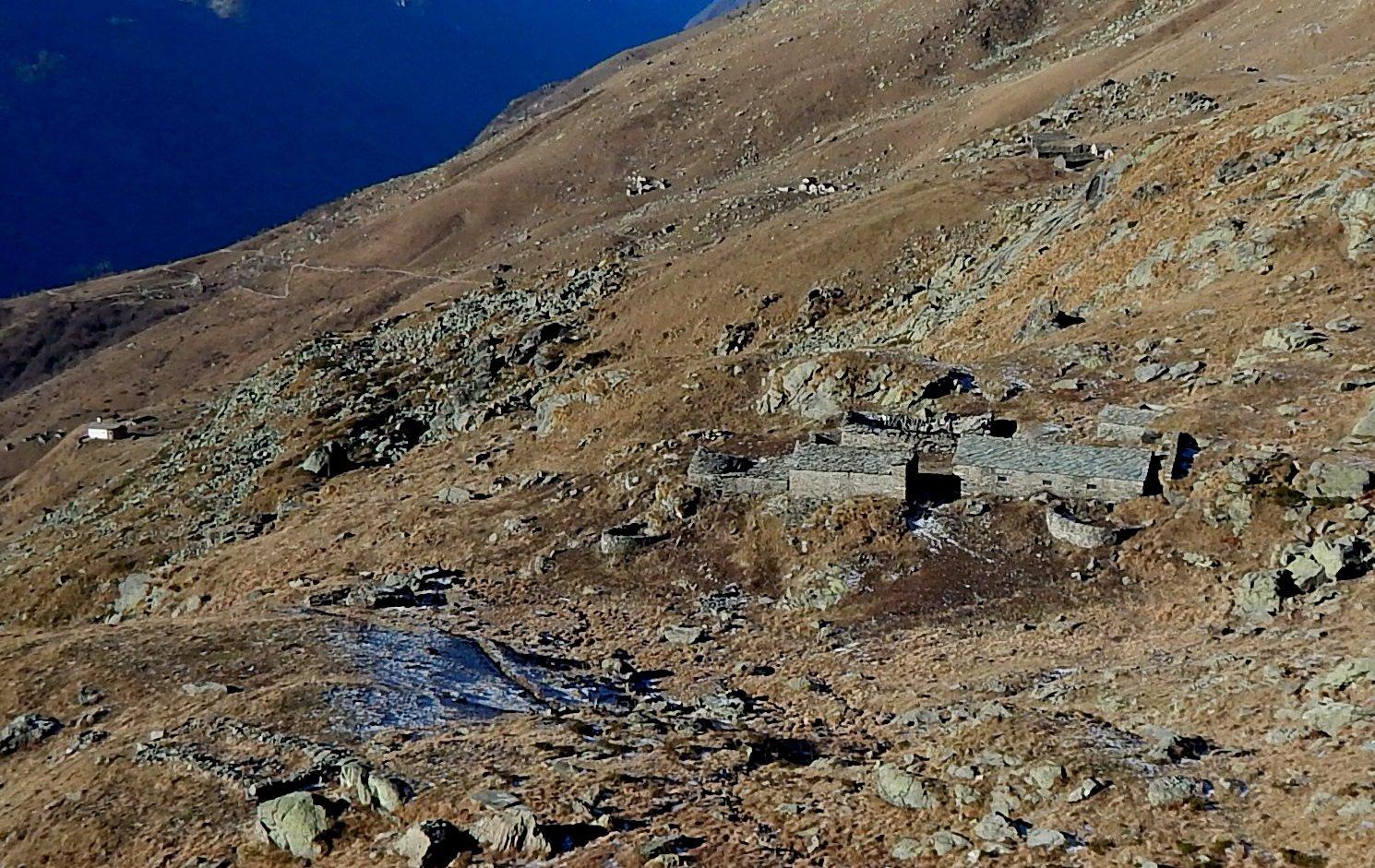 Alpe Seione e il Ciavanis