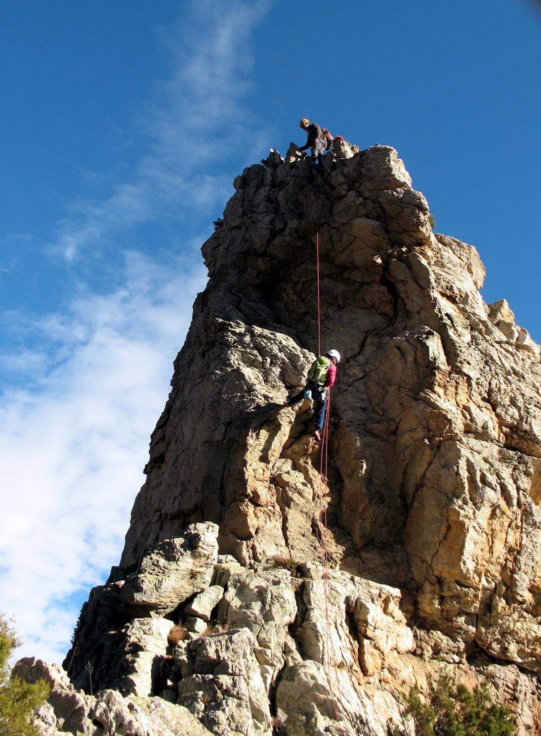 Aia (Rocca dell') Via Normale o Cresta Sud-Est 2015-11-28