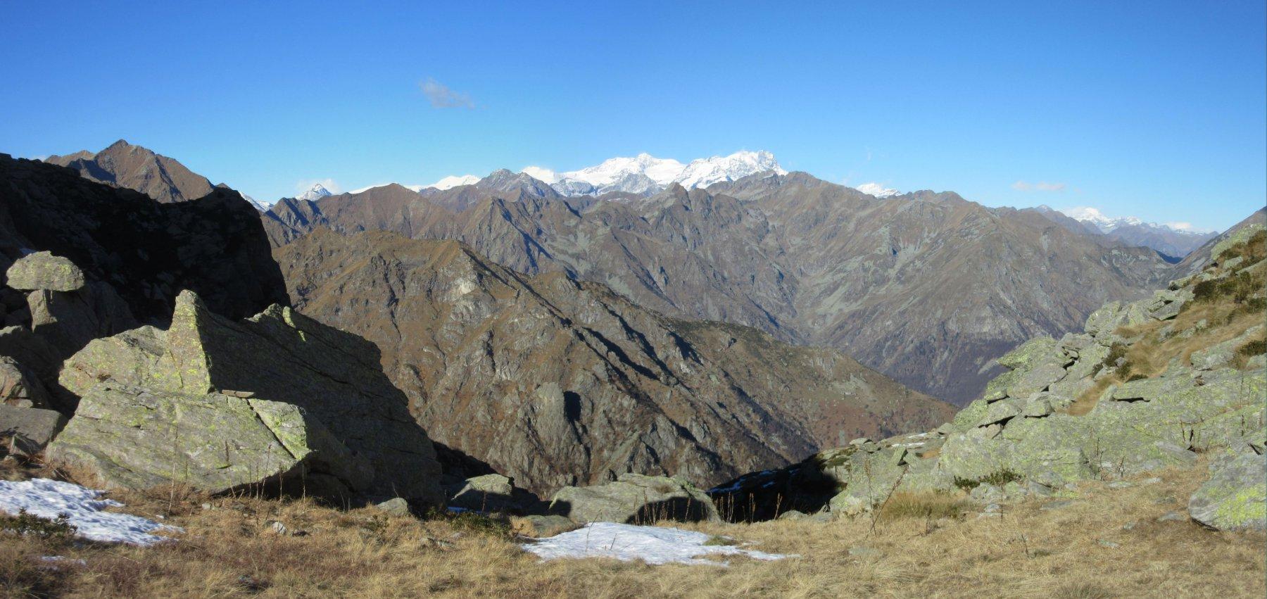 Monte Rosa dal Colle Finestra
