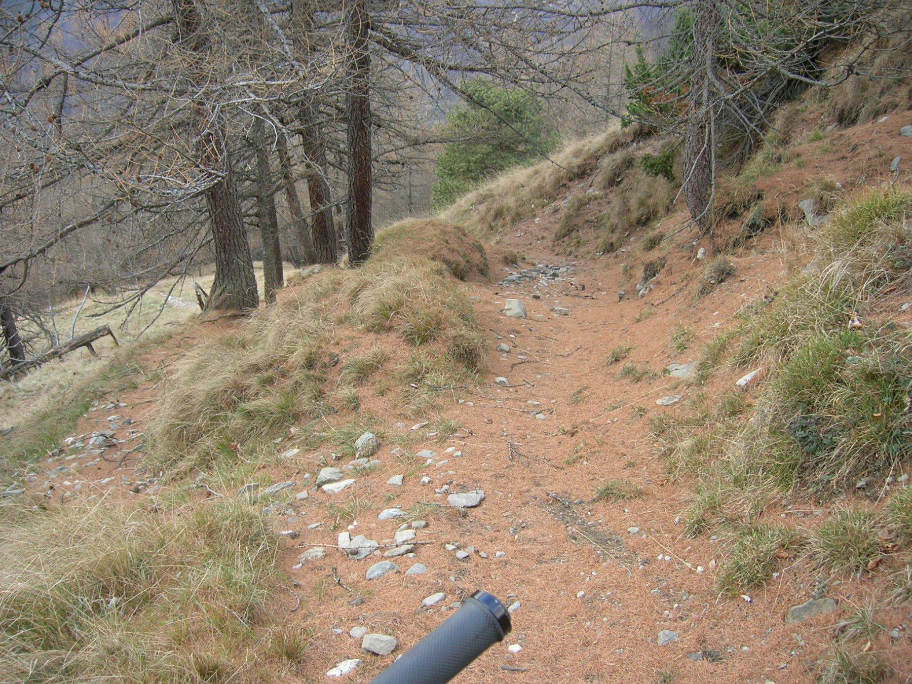 Sentiero dei Monaci parte alta