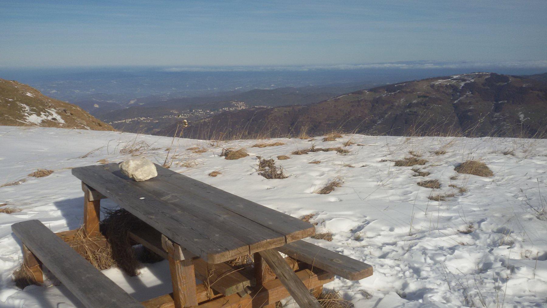 A discapito del nome, la cima Nera è alquanto accogliente!