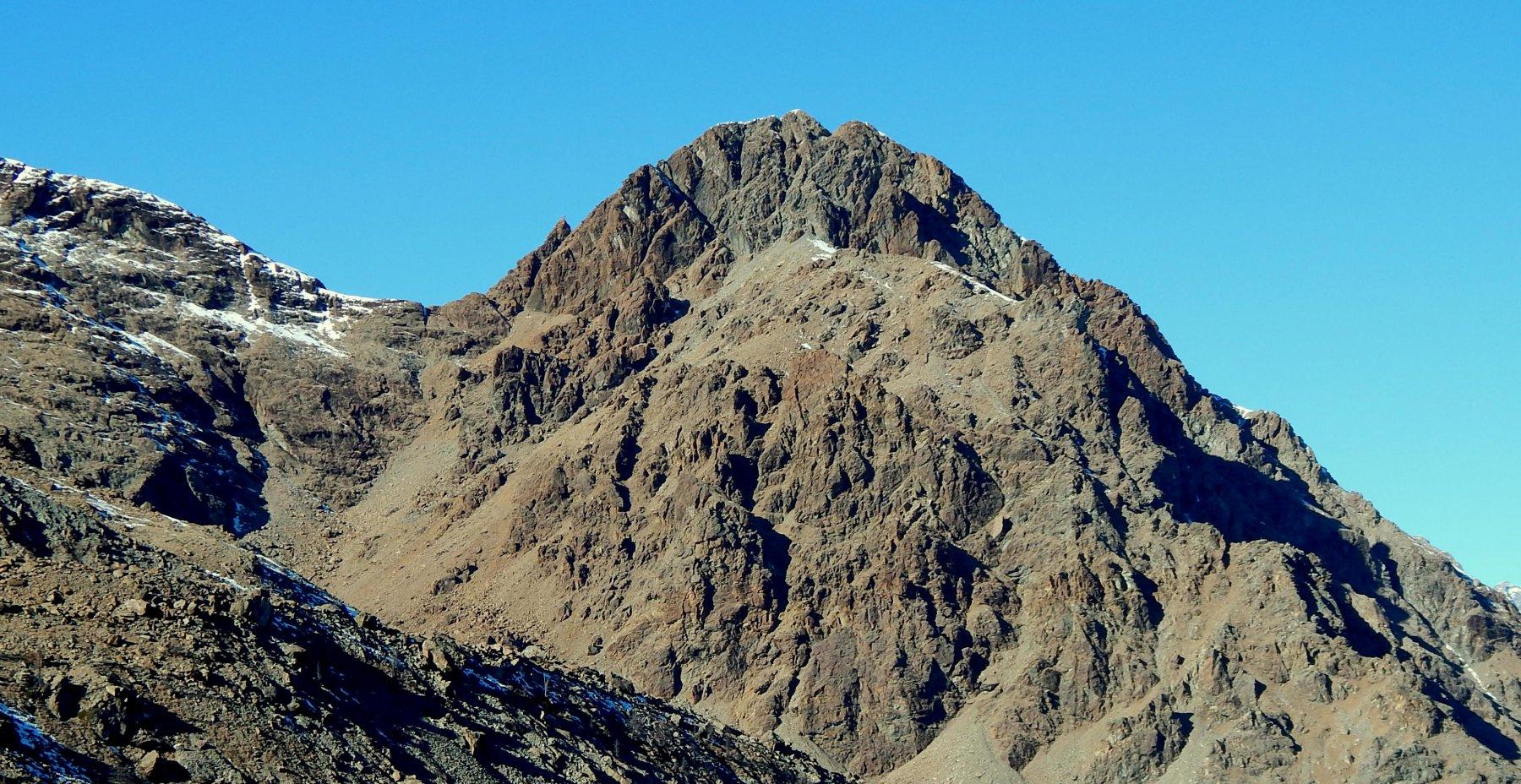 Il bellissimo Monte Rosso d'Ala