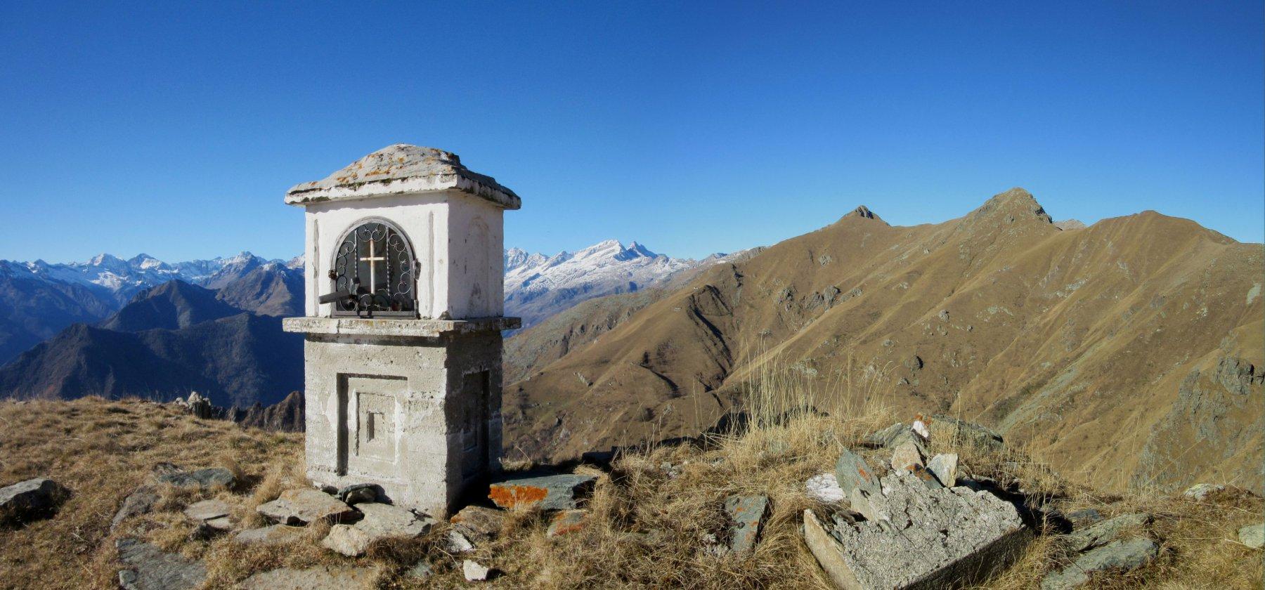 Cappelletta vicino all'Alpe di Monastero