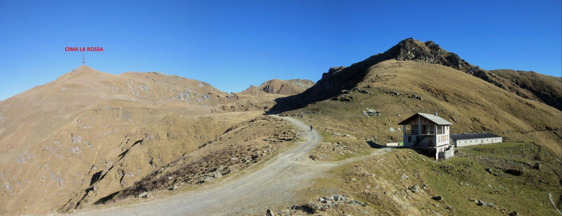 Alpe di Monastero e Cima La Rossa