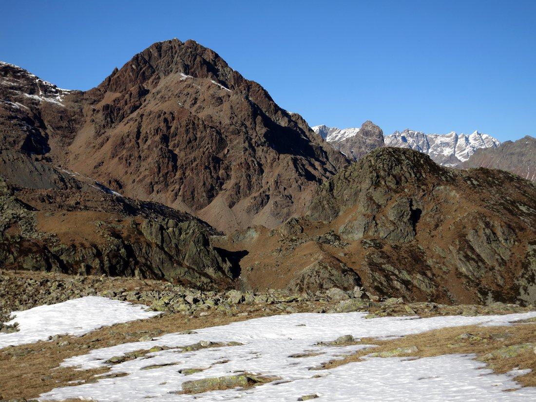 il Monte Rosso d'Ala e l'Uia di Mondrone sullo sfondo