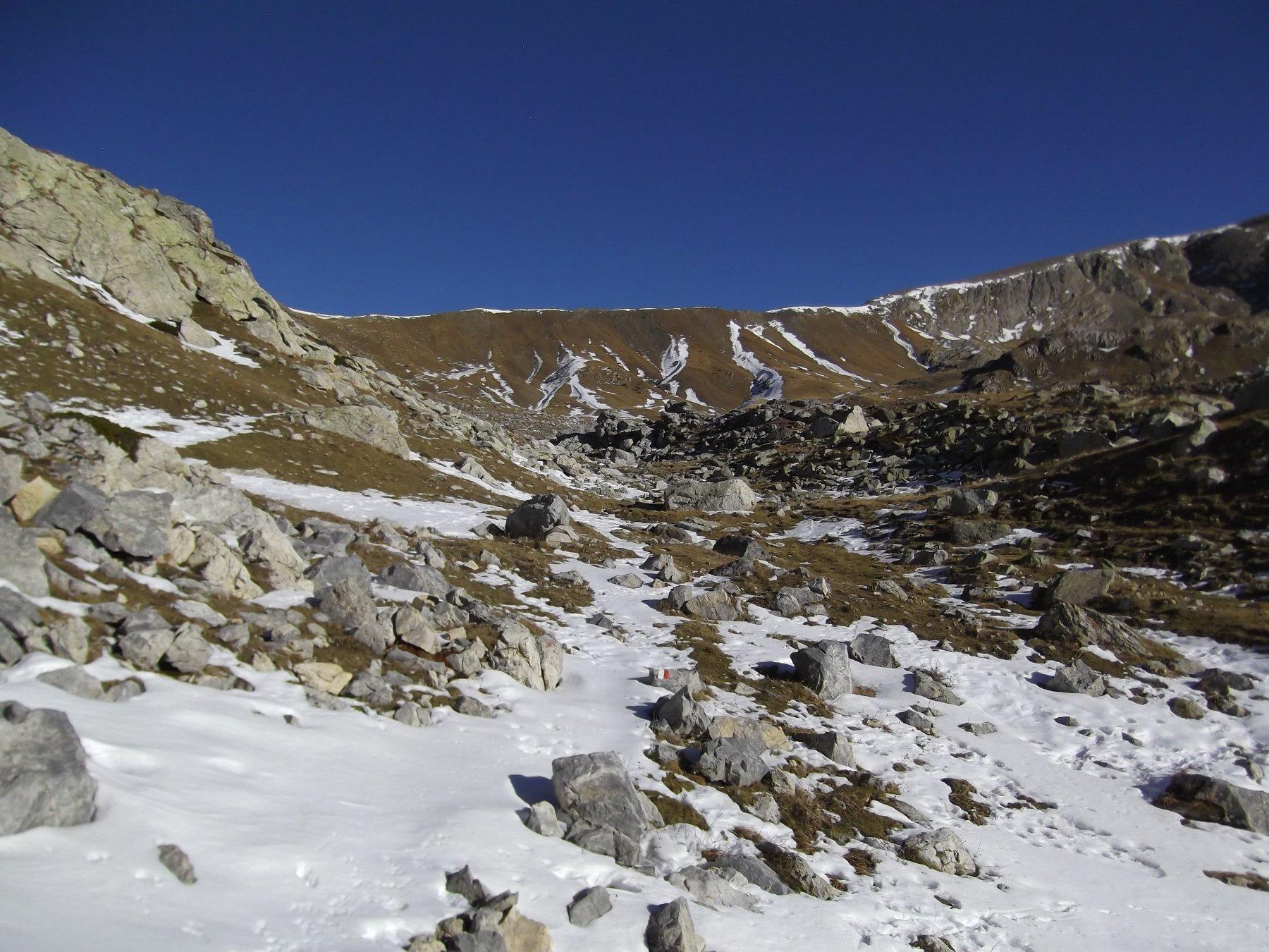 Verso il Col del Pas.