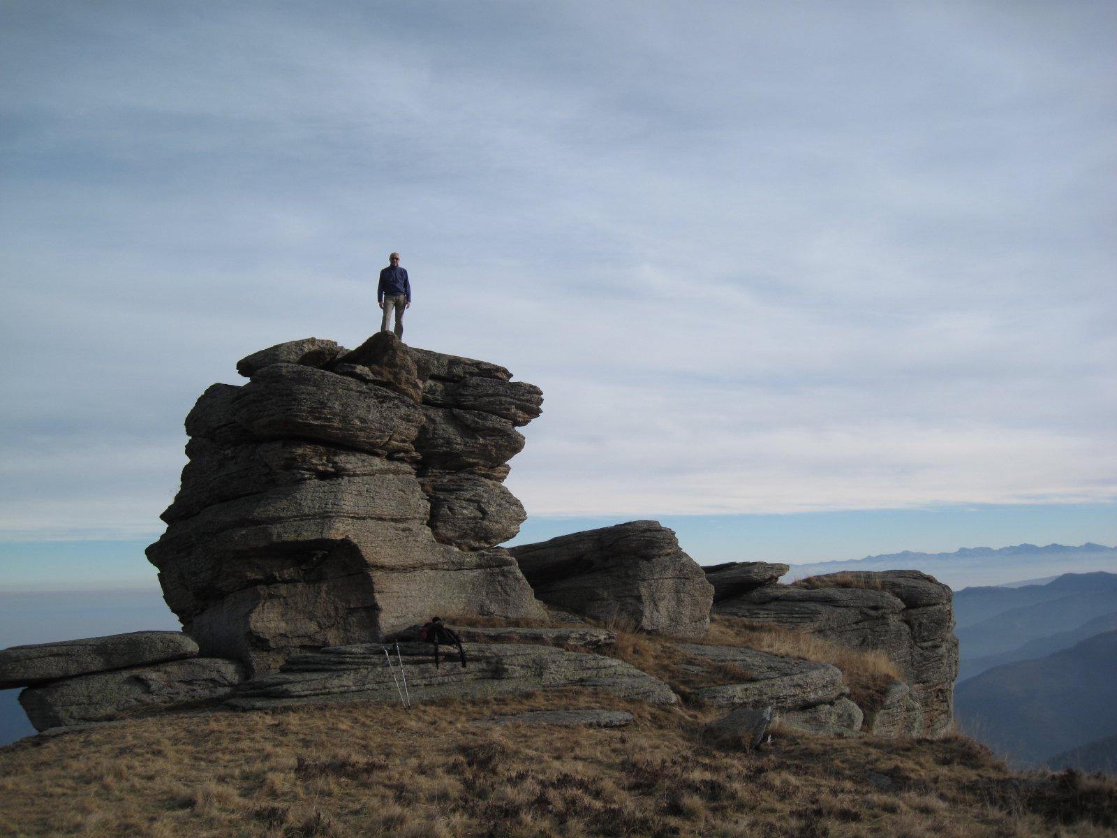 il torrione della Rocca Vardetta
