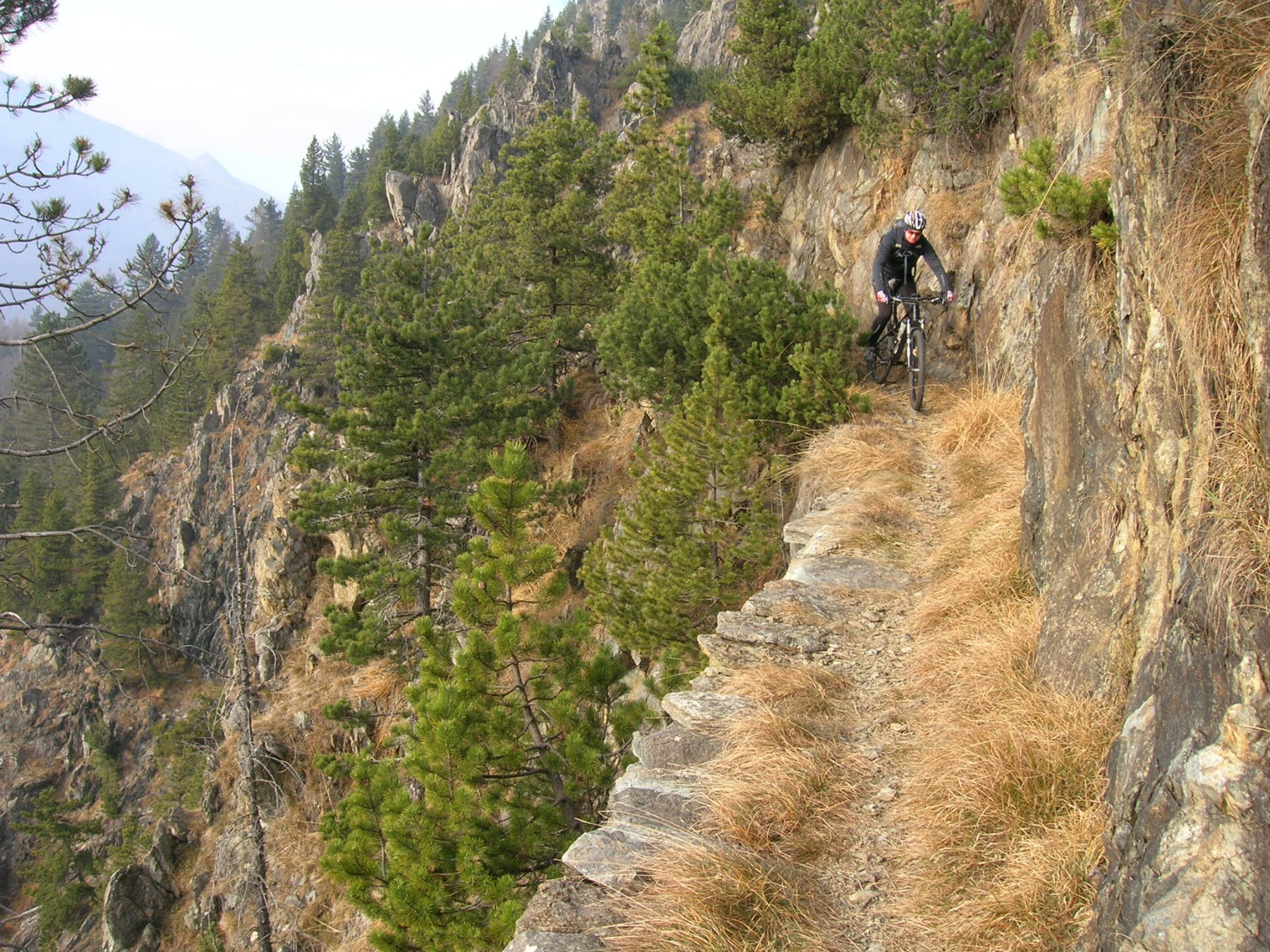 Cialmetta (Colle della) da Fubina per il sentiero forestale 2015-12-05