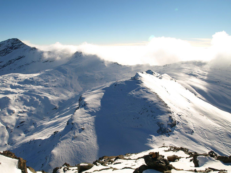 Anticima del Costazza vista dalla cima