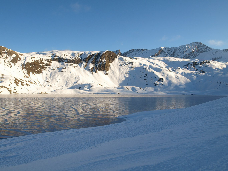 Lago Miserin nel pomeriggio