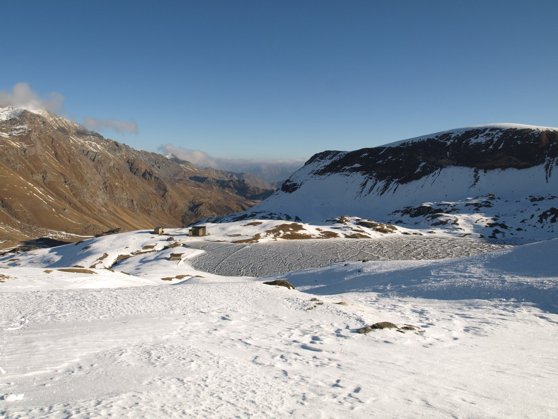 Lago Miserin visto da quota 2676 m