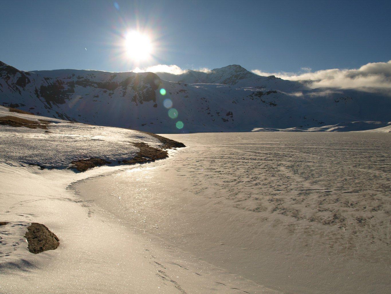 Lago Miserin (quota 2580 m)