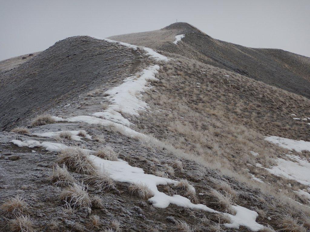 Paesaggio polare verso la cima