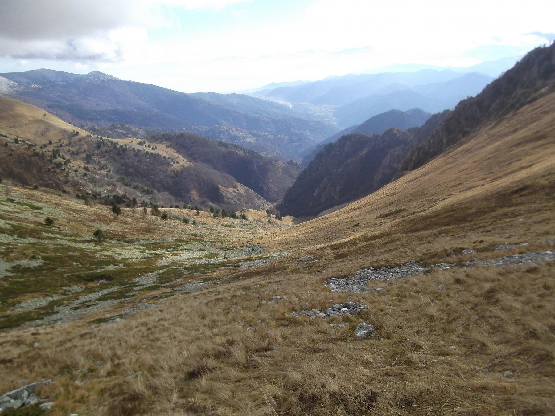 Il vallone dal Colle.