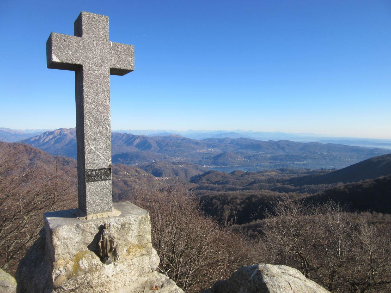 La croce sul Monte Briasco