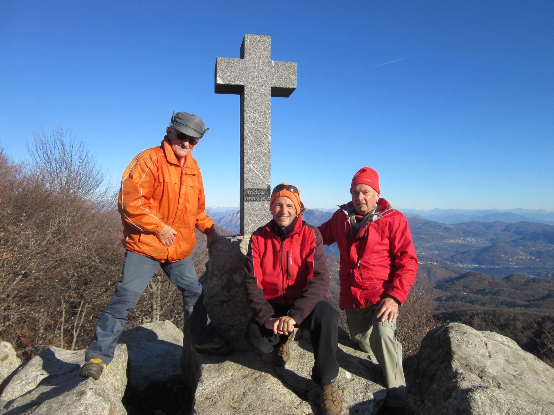 Con Gianni e Francesco sul Monte Briasco