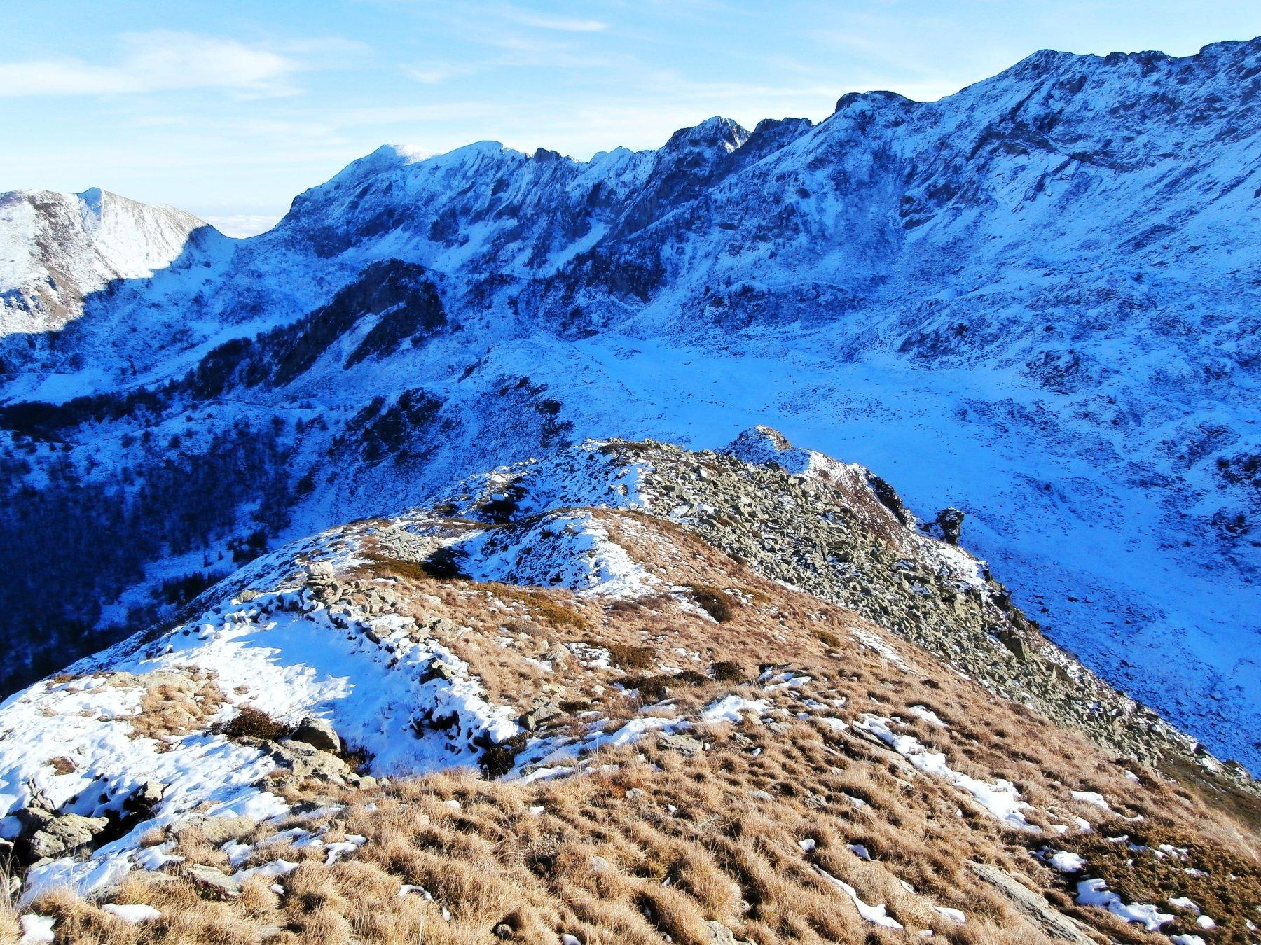 Ferrarine (Cima) e Monte Baussetti da Costacalda 2015-12-11