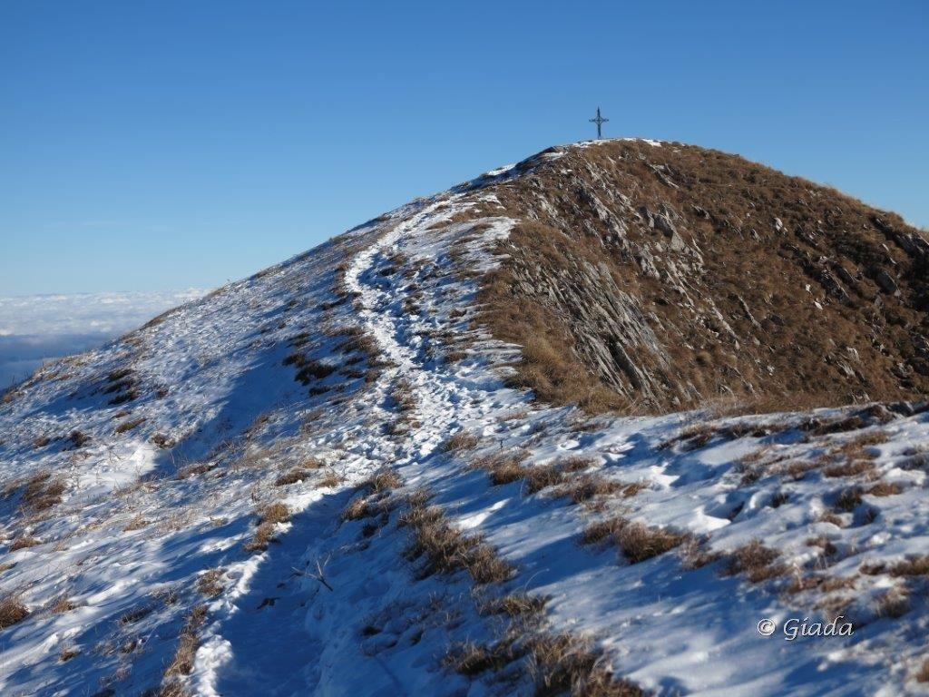 Verso la cima dell'Antoroto