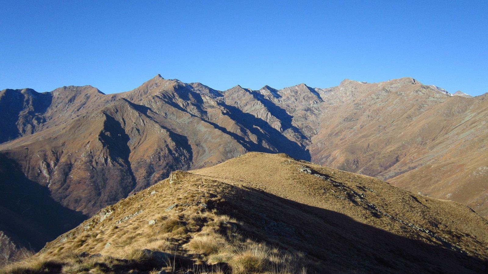 Verso l'alta valle ma il bianco dov'è?