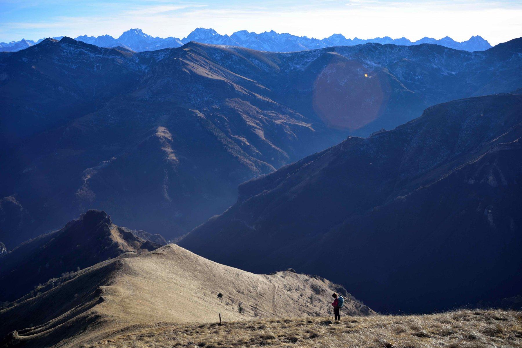 Cresta del Balou e Alpi Marittime