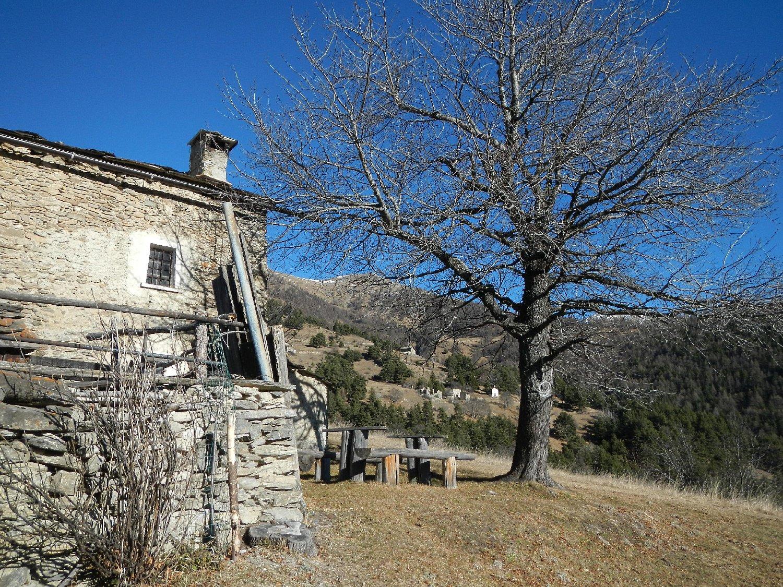le case Piccou 1786 m.