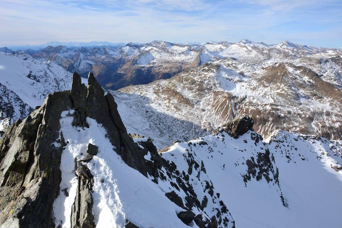 gendarmi da scalare sulla cresta