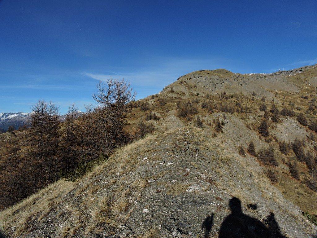 in cima a Monte Rotta