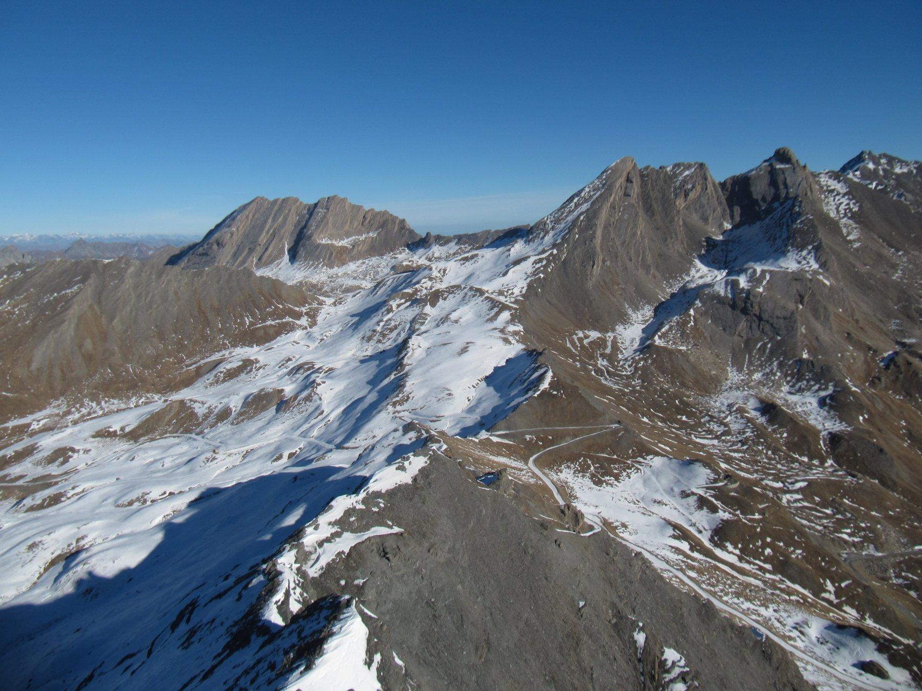 Situazione neve al Colle dell'Agnello