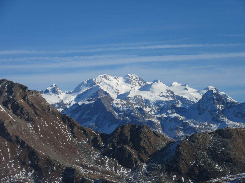 Vista sul Monte Rosa