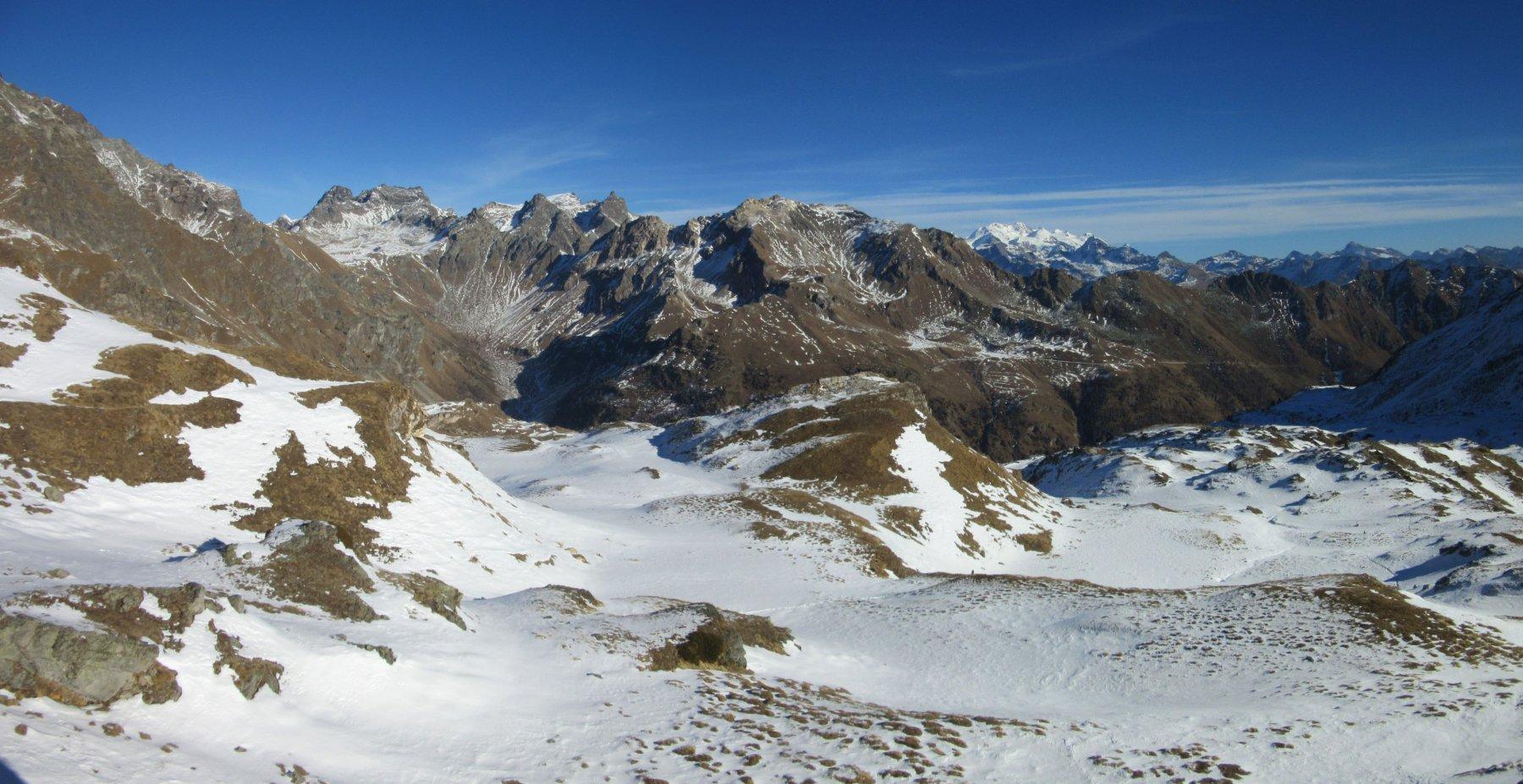 Panorama dal colle du Salvè