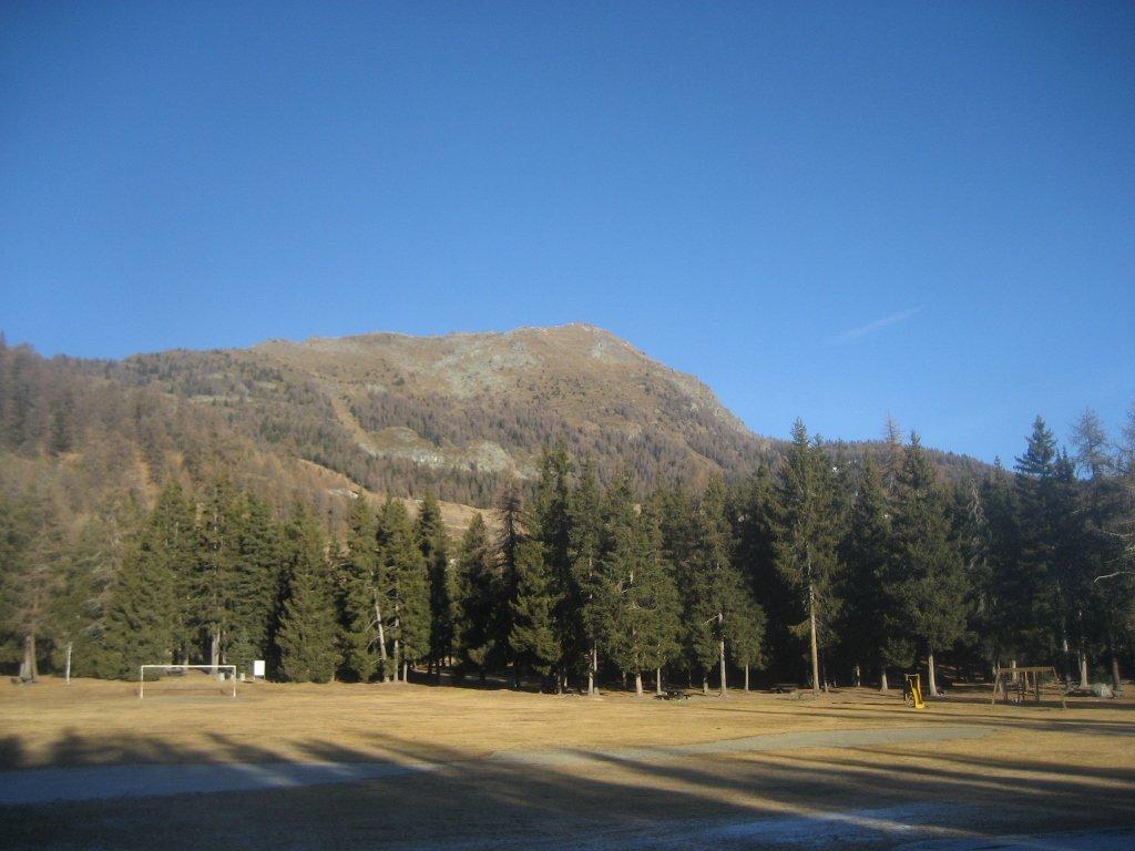 monte Meabè all'inizio dell'escursione