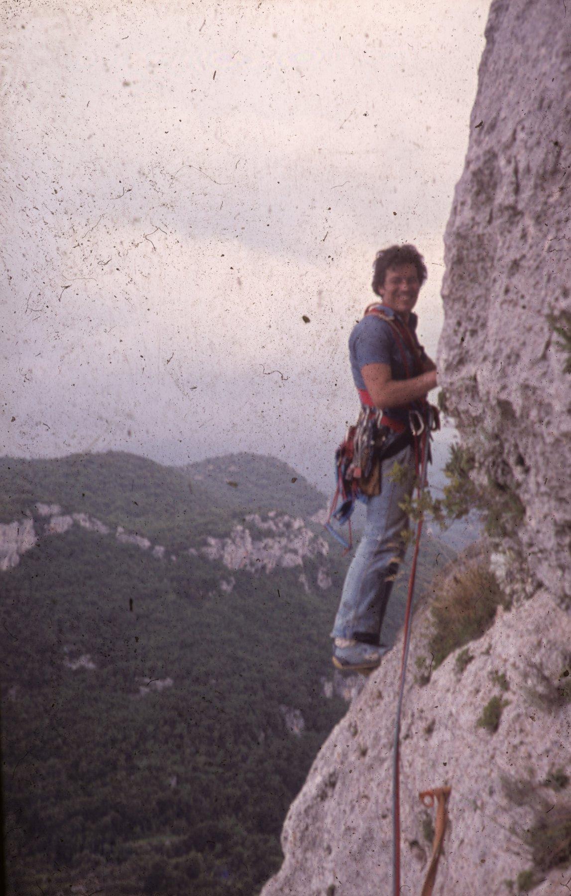 Vittorio Simonetti in apertura sul penultimo tiro (per gentile concessione di A. Grillo)