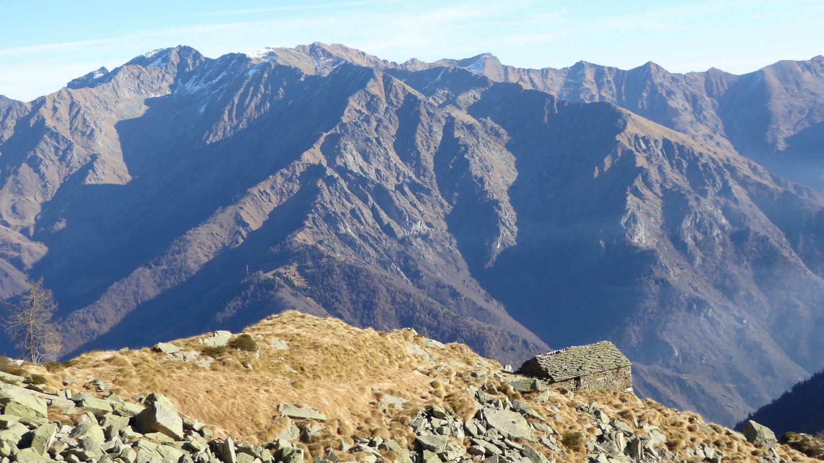 i Valloni di Servino e Canaussa dall'Alpe Vallone