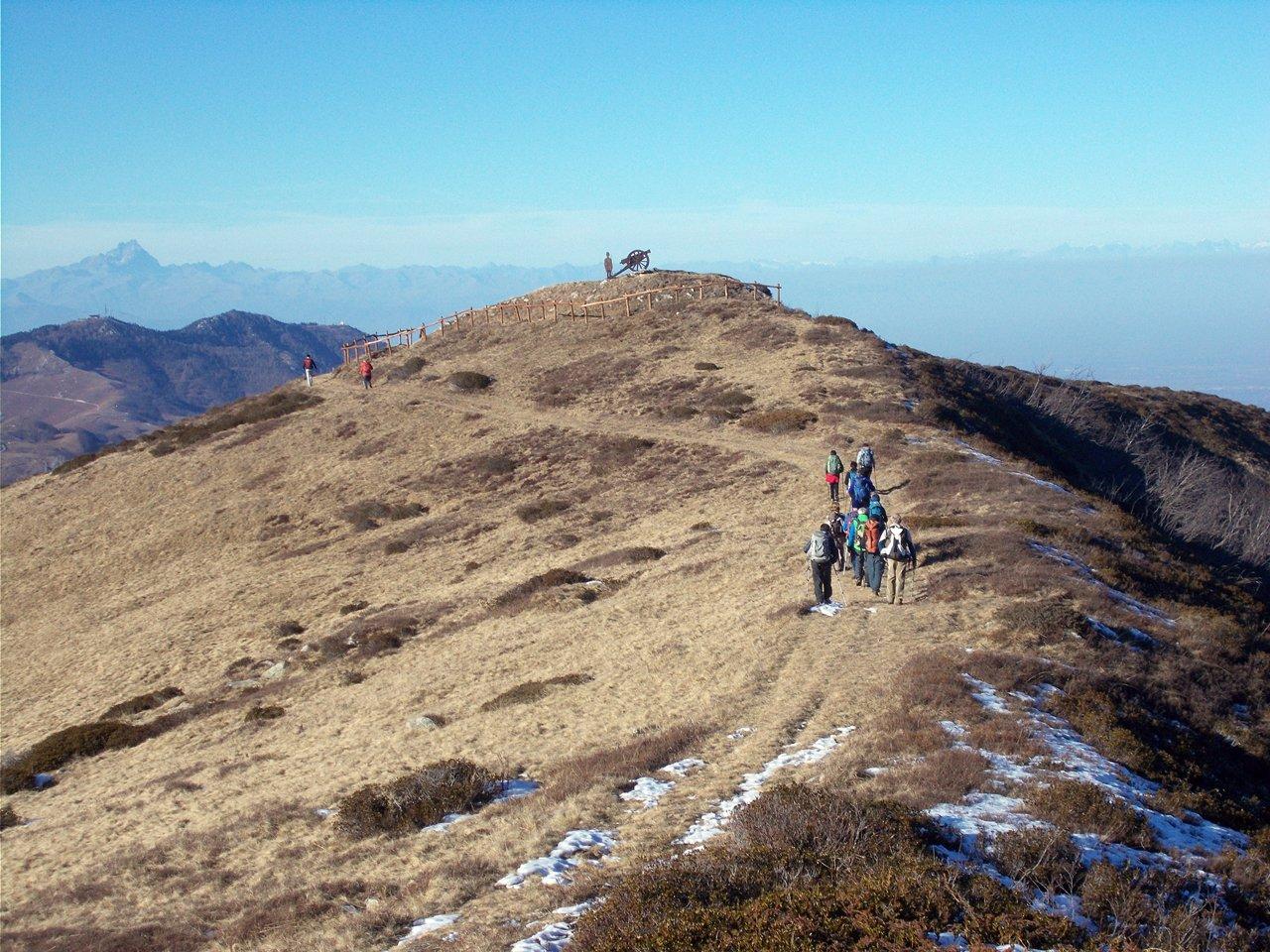 Baussetti (Monte) da Costacalda per la Cima Robert e la Rocca Brusetti 2015-12-20